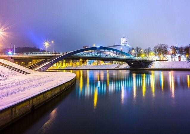 Most Mendoga w Wilnie