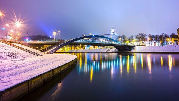 Most Mendoga w Wilnie - Sputnik Polska