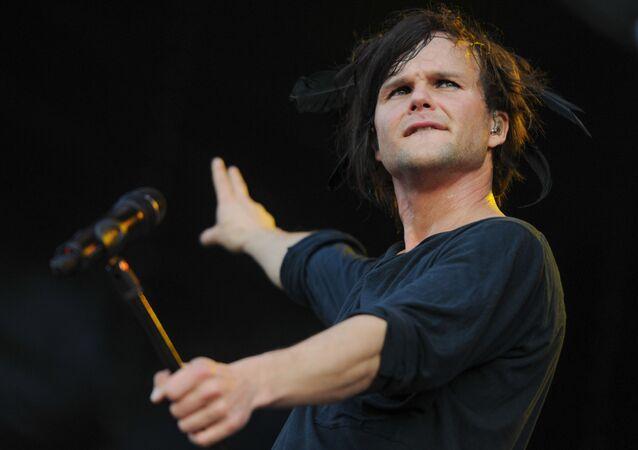Wokalista grupy The Rasmus Lauri Ylönen