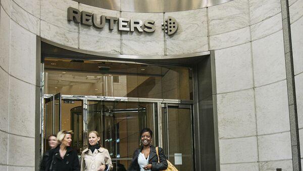 Siedziba Reuters w Londynie - Sputnik Polska