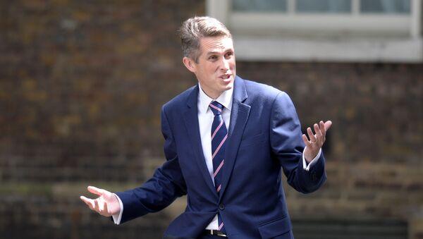 Minister obrony Wielkiej Brytanii Gavin Williamson - Sputnik Polska