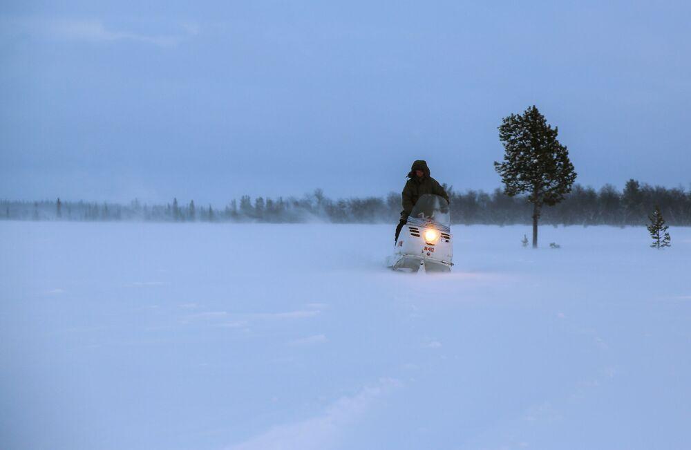 Zima w obwodzie murmańskim