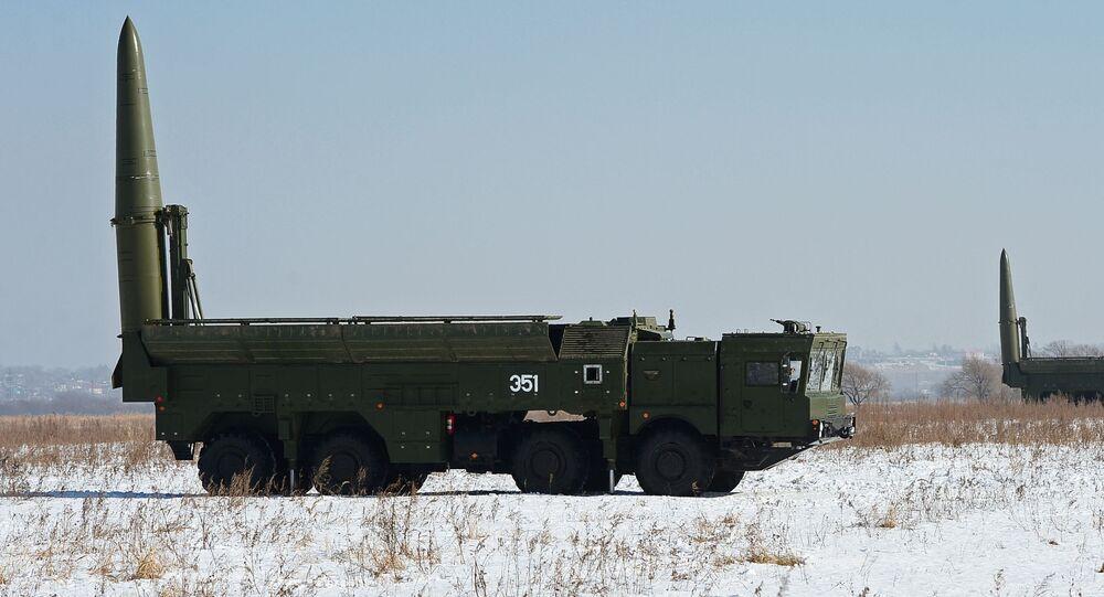 Kompleksy rakietowe Iskander-M