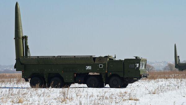 Kompleksy rakietowe Iskander-M - Sputnik Polska
