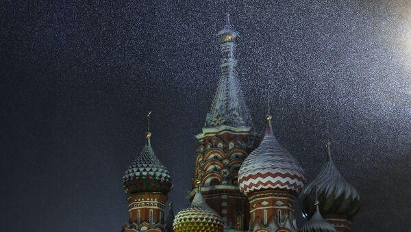 Śnieg w Moskwie - Sputnik Polska