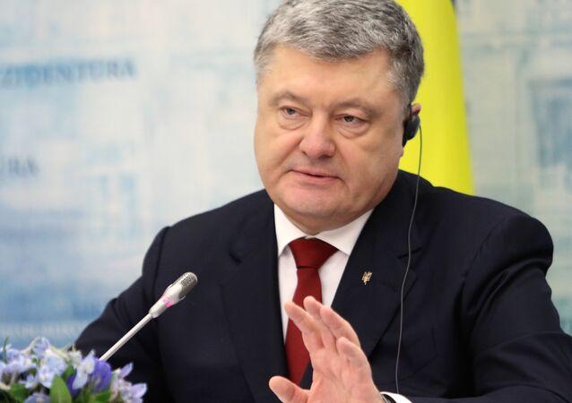 Prezydent Ukrainy Petro Poroszenko