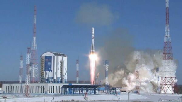 Rakieta Sojuz 2.1а wystartowała z kosmodromu Wostocznyj - Sputnik Polska