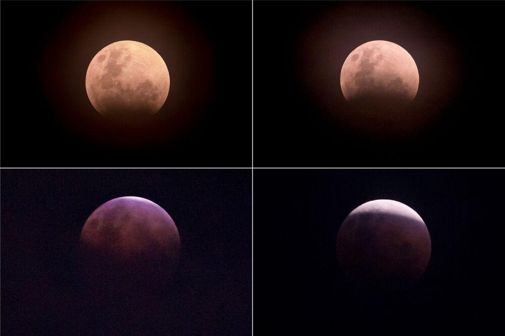 Zaćmienie Księżyca nad Dżakartą, Indonezja