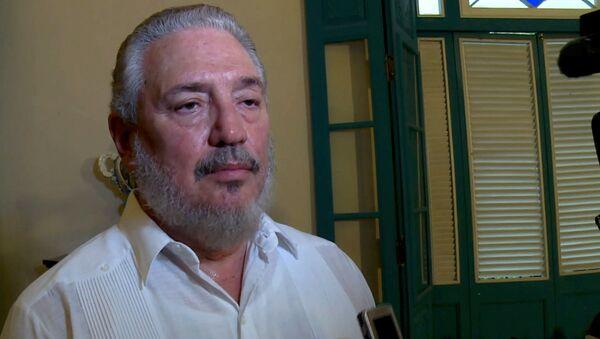 Najstarszy syn byłego kubańskiego przywódcy Fidela Castro doktor Fidel Angel Castro Diaz-Balart - Sputnik Polska