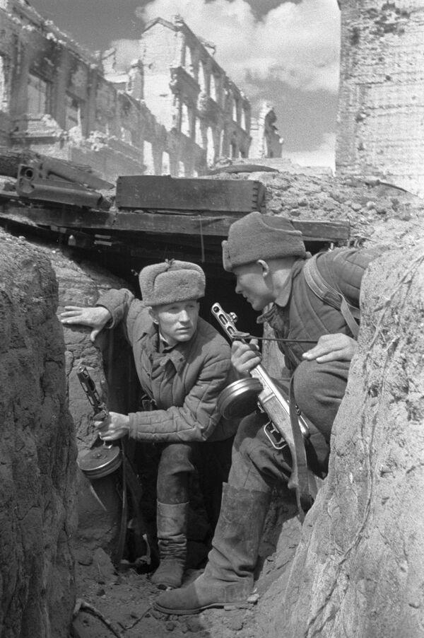 Stalingrad, październik 1942 r. - Sputnik Polska