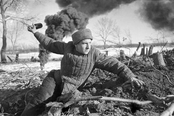 Wielka Wojna Ojczyźniana 1941-45 r. Bitwa pod Stalingradem - Sputnik Polska