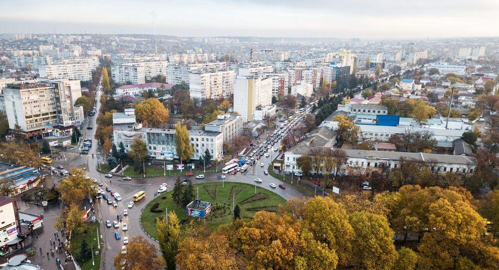 Widok na Symferopol