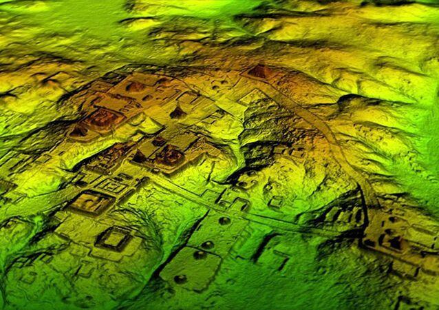 Ruiny osady Majów