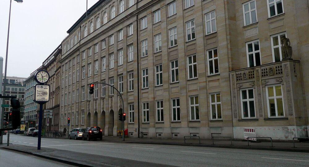 Były sztab Gestapo w Hamburgu
