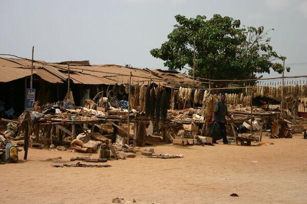 Targowisko Akodessawa w Lomé, stolicy Republiki Togijskiej. - Sputnik Polska