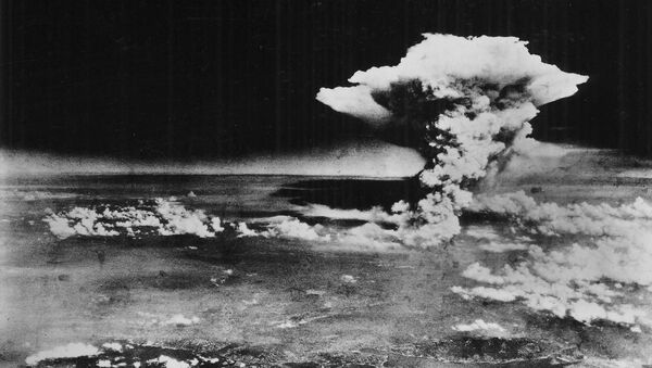 Chmura atomowa nad Hiroszimą - Sputnik Polska