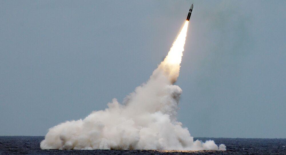 Start rakiety balistycznej Trident II D5