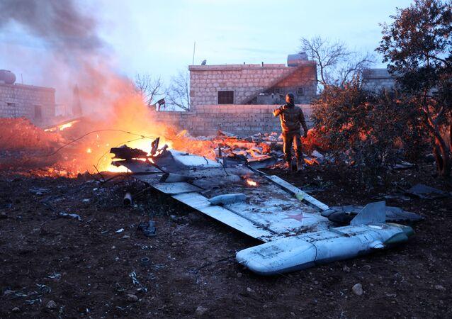 Dżabhat an-Nusra przyznała się do zestrzelenia rosyjskiego Su-25 w Syrii
