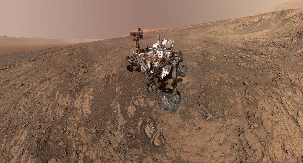 Curiosity na Marsie