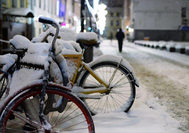 Rowery w centrum Moskwy