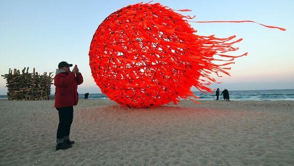 Plaża w Gangneung, Korea Południowa - Sputnik Polska
