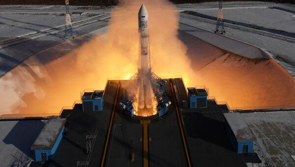 Start rakiety nośnej Sojuz 2.1a z aparatami zdalnego sondowania Ziemi Kanopus-B z kosmodromu Wostocznyj - Sputnik Polska
