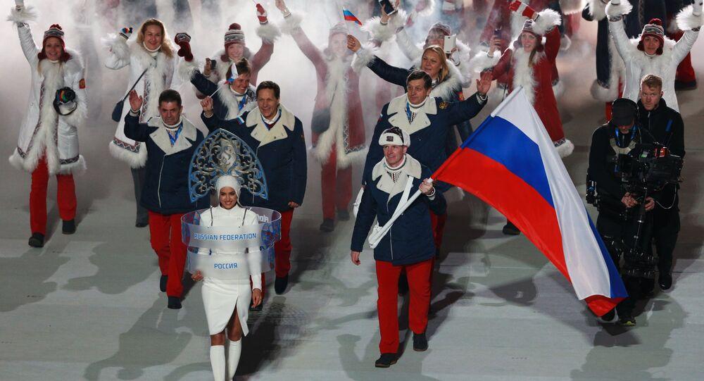 Reprezentacja Rosji na Igrzyskach Olimpijskich w Soczi