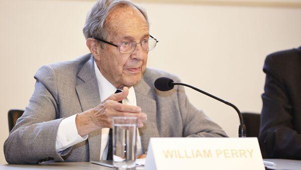 Były szef Pentagonu William Perry - Sputnik Polska