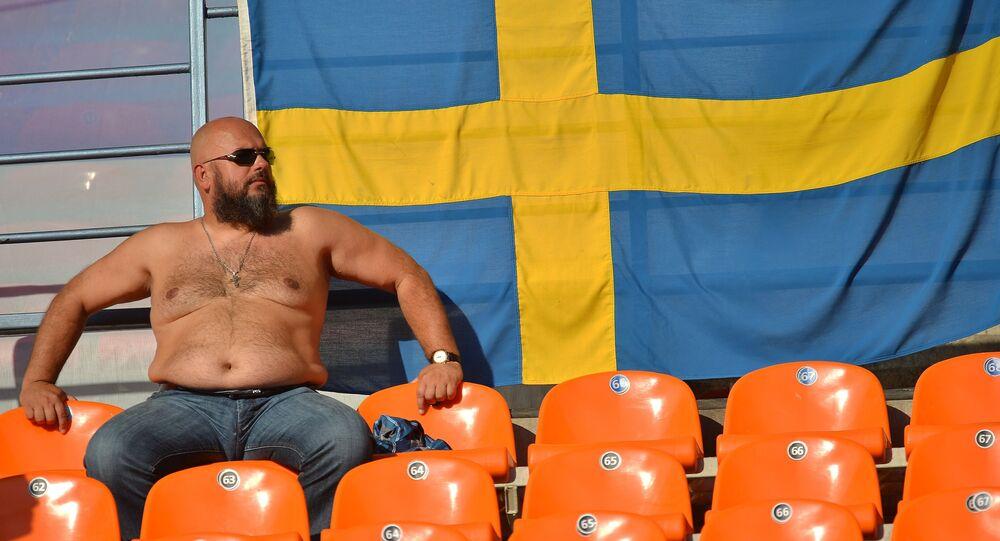 Kibic ze Szwecji