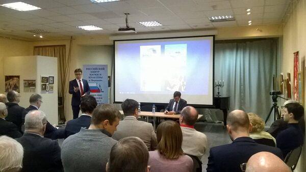 Spotkanie z przedstawicielem Rady do spraw Międzynarodowych Panem Iwanem Tomofeevem - Sputnik Polska