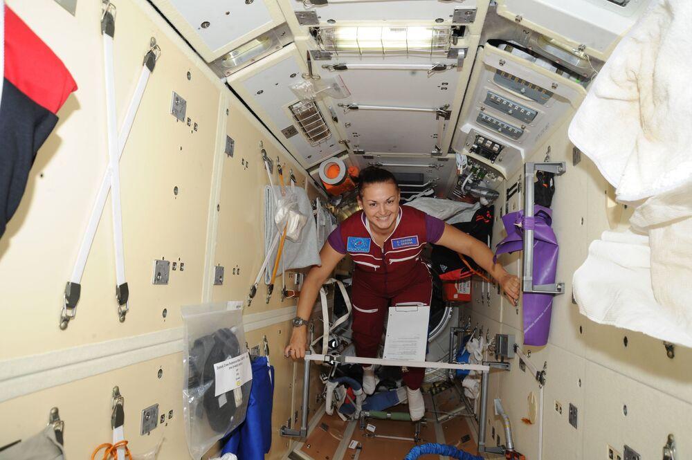 Rosyjska kosmonautka Jelena Sierowa