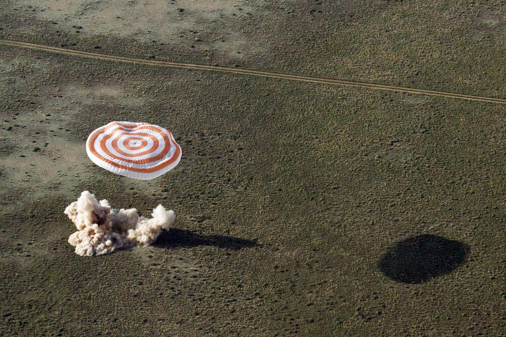 Kapsuła powrotna statku Sojuz TMA-3