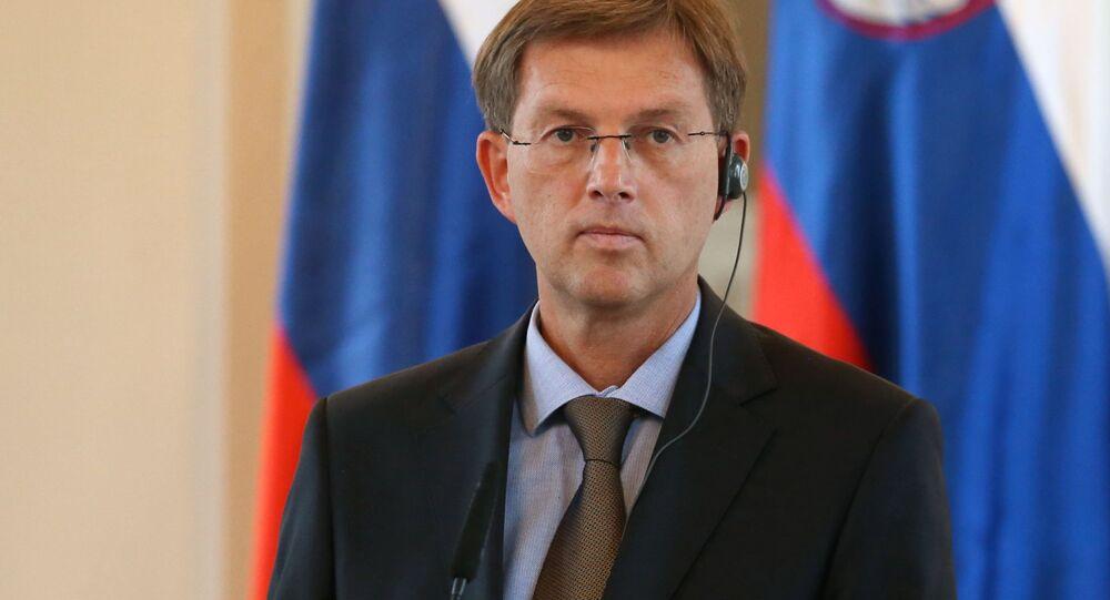 Szef słoweńskiego rządu Miroslav Cerar