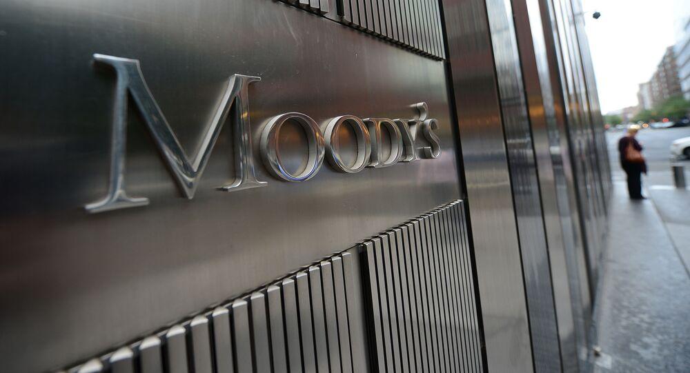 Logotyp agencji Moody's Investors Service