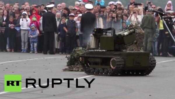 Nowy rosyjski robot wojskowy - Sputnik Polska