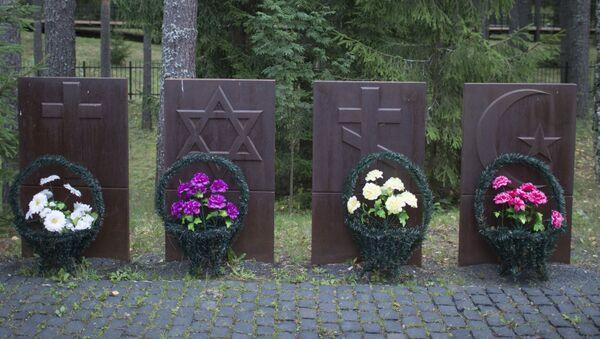 Pomnik ofiar represji politycznych w Katyniu - Sputnik Polska