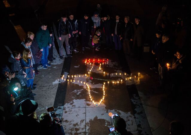 Lotnicy z  Sewastopola uczcili pamięć pilota Romana Filipowa