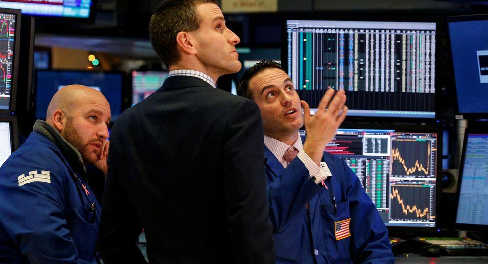 Inwestorzy na nowojorskiej giełdzie papierów wartościowych