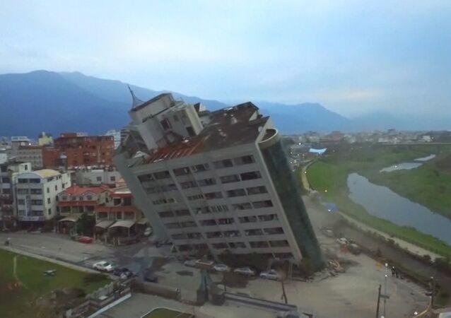Trzęsienie ziemi w Tajwanie