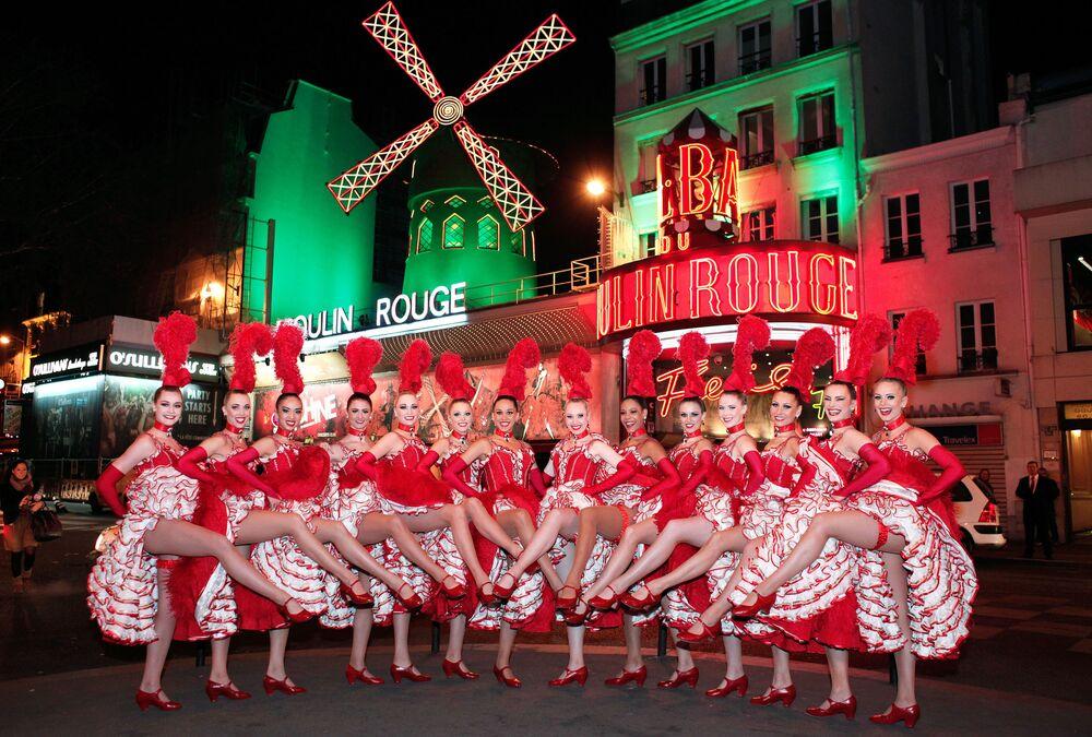 Tancerki kabaretu Moulin Rouge