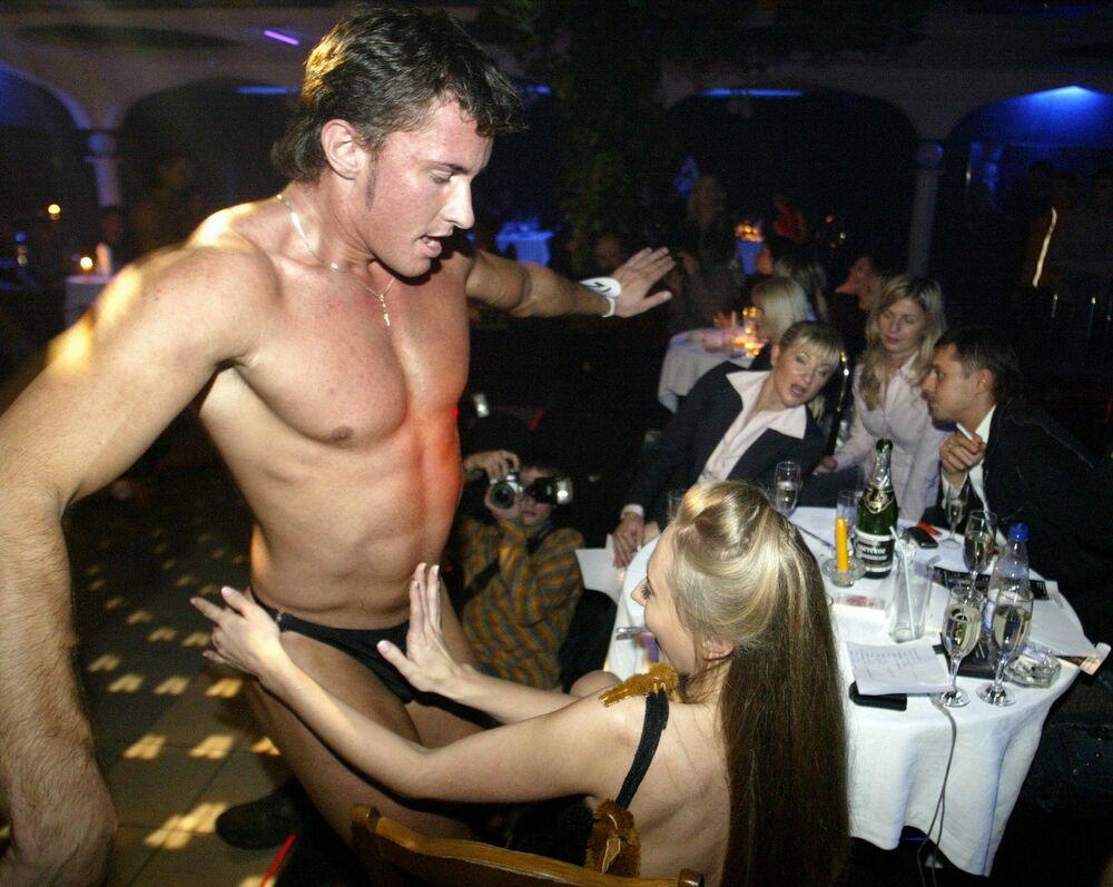 Striptizerki w Mińsku