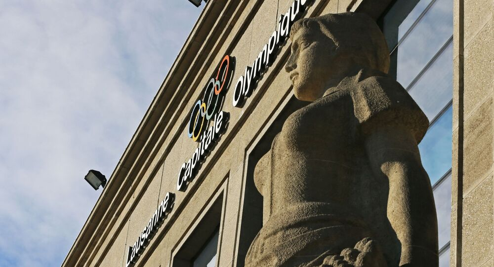 Siedziba MKOl w Lozannie