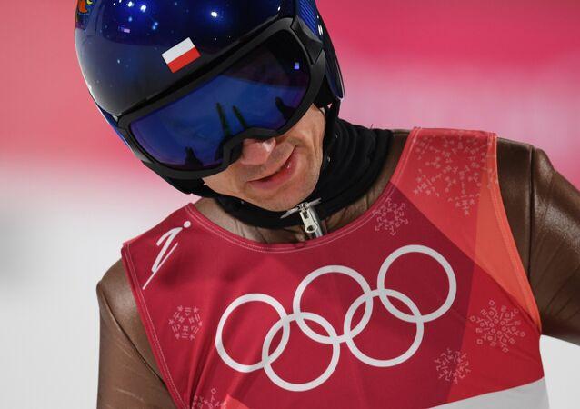 Kamil Stoch na Zimowych Igrzyskach Olimpijskich-2018 w Pjongczangu