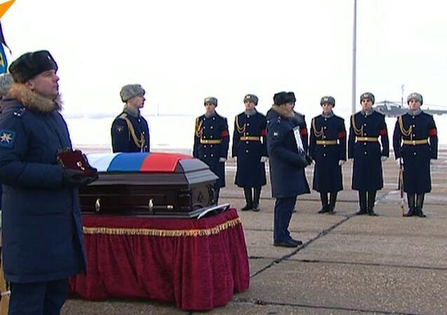 Pożegnanie pilota Su-25 Romana Filipowa