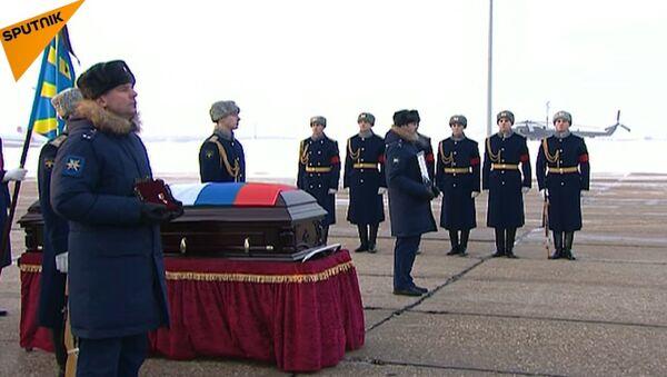 Pożegnanie pilota Su-25 Romana Filipowa - Sputnik Polska