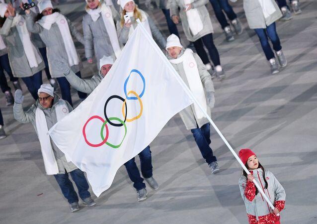 Rosyjscy sportowcy na Igrzyskach Olimpijskich w Pjongczangu 2018