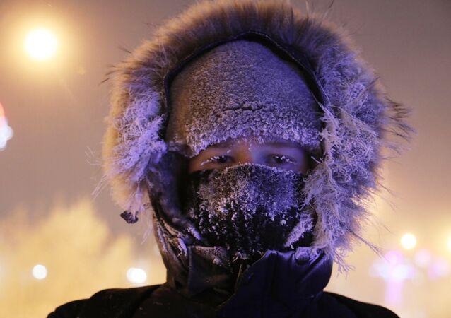Mrozy w rosyjskim Norylsku
