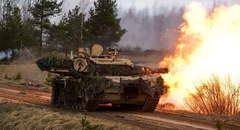 """Czołg M1 """"Abrams"""""""