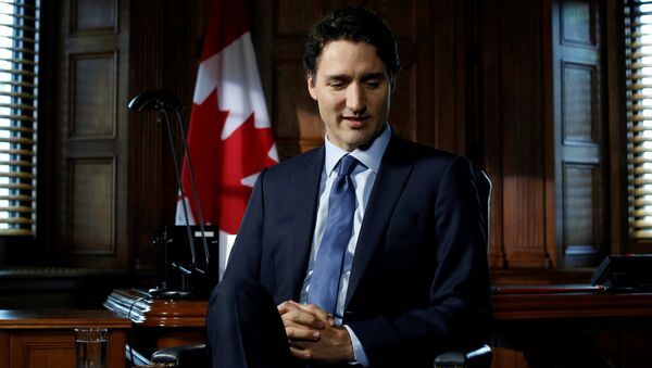Premier Kanady Justin Trudeau - Sputnik Polska
