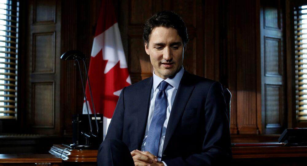 Premier Kanady Justin Trudeau